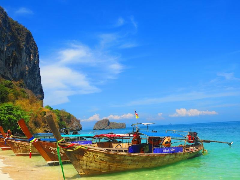 Krabi Longtail Boats