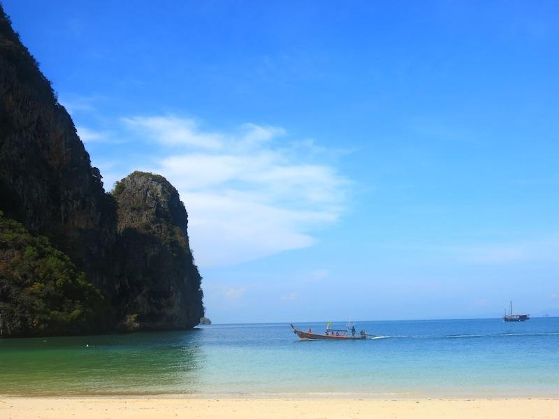 Tranquil Krabi Phra Nang Beach
