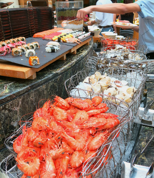 Greenhouse Buffet Chilled Seafood