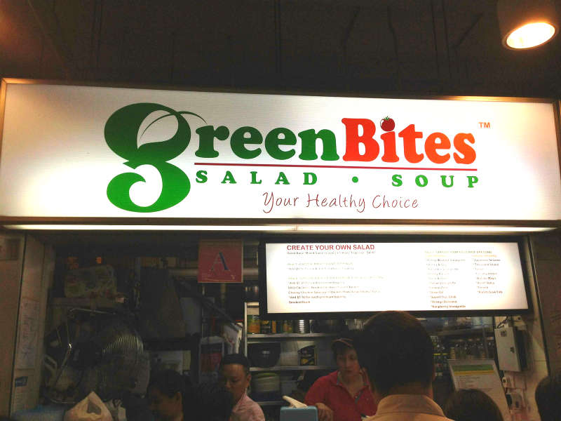 Green Bites at Golden Shoe Hawker Centre