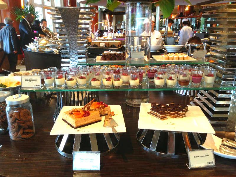 Town Restaurant Fullerton Hotel Desserts