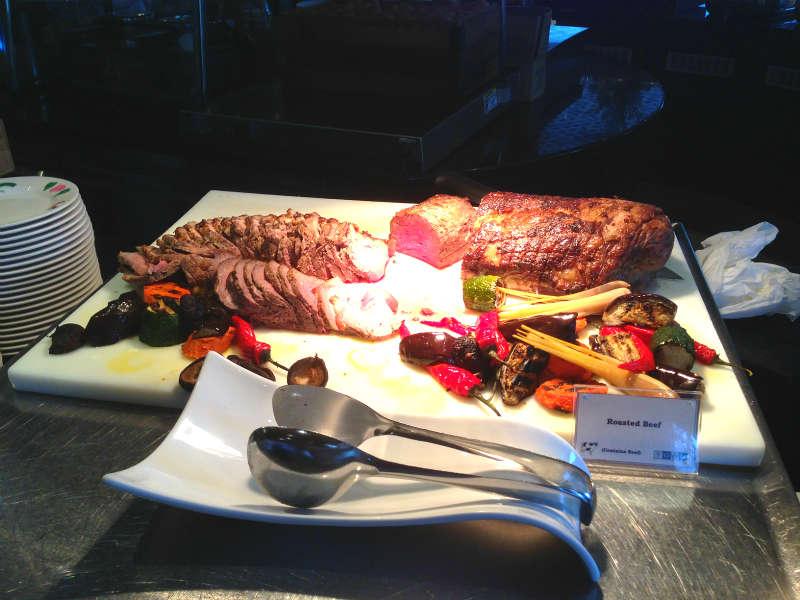 Town Restaurant Fullerton Hotel Roasted Beef