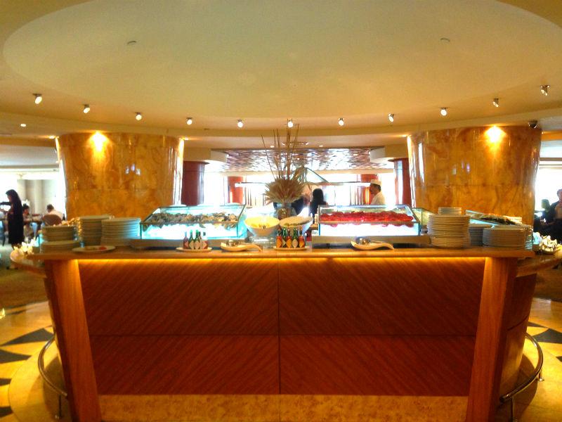 Town Restaurant Fullerton Hotel Singapore