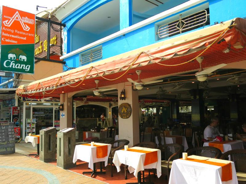 Krabi Aning Restaurant Ao Nang