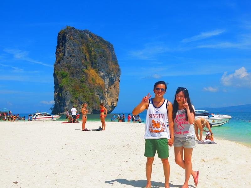 Krabi Koh Poda Island Beach