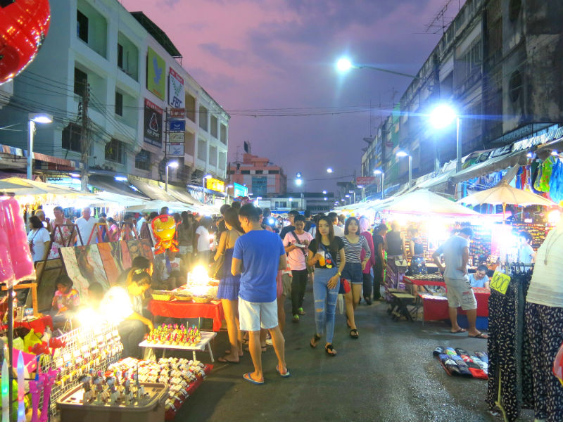 Krabi Town Walking Street