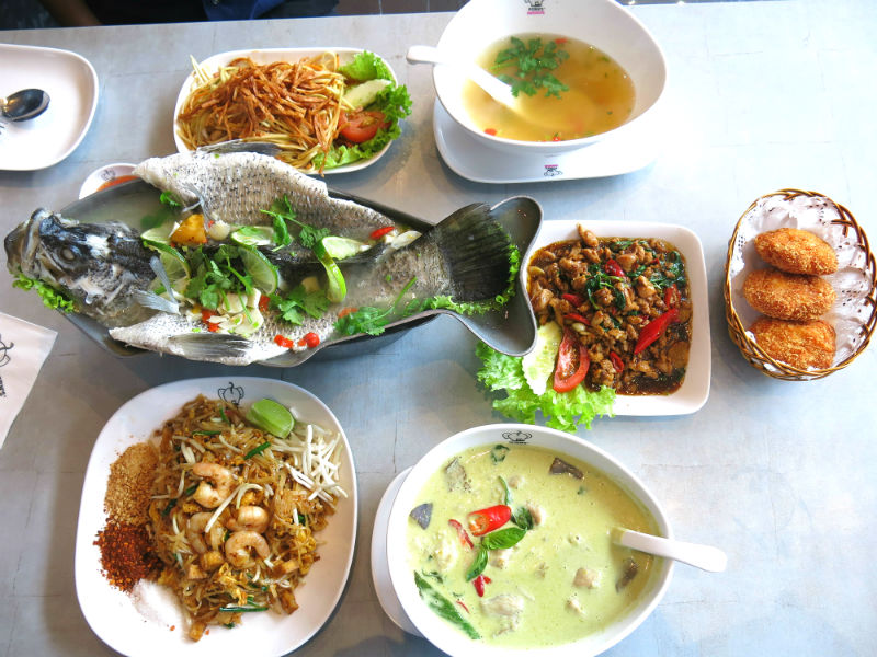 Porn's Sexy Thai Food