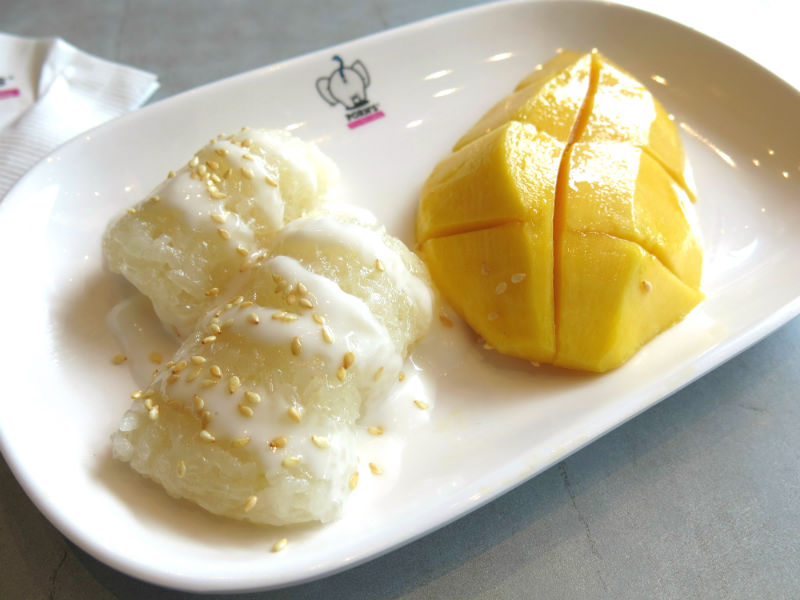 Porn's Sticky Rice with Mango2