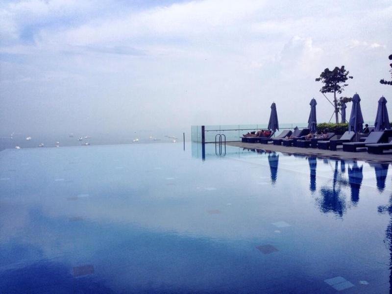 The Westin Singapore Infinity Pool
