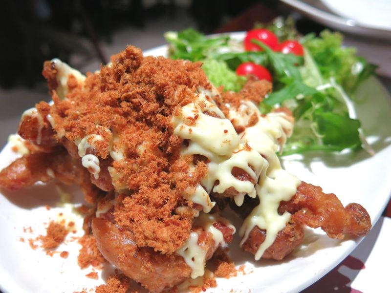 Simply Thai Soft Shell Crab with Pork Floss