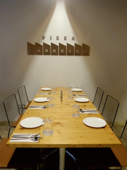 Pizza Fabbrica Singapore - Table