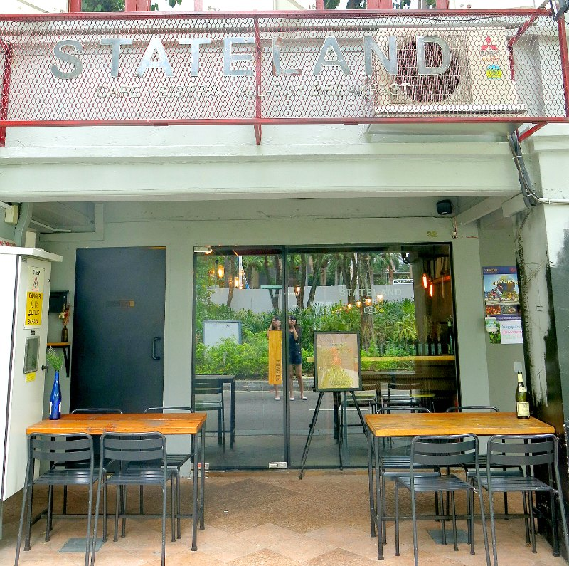 Stateland Cafe Facade