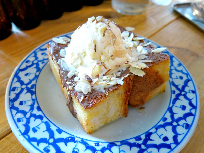 Stateland Cafe Hazelnut Honey Toast