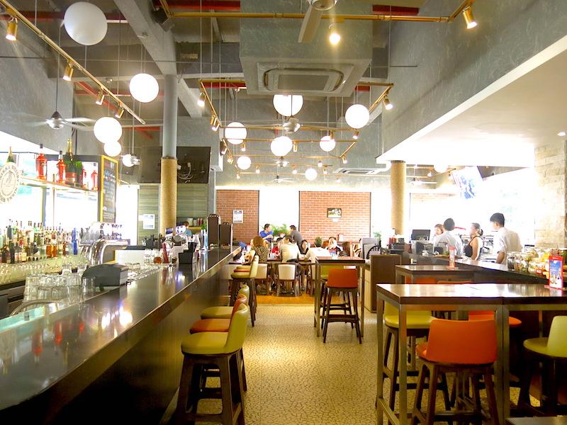 The Sandbank Singapore Interior
