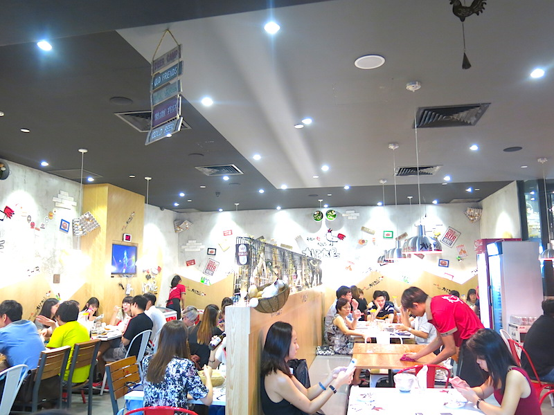 Chir Chir Fusion Chicken Singapore Interior