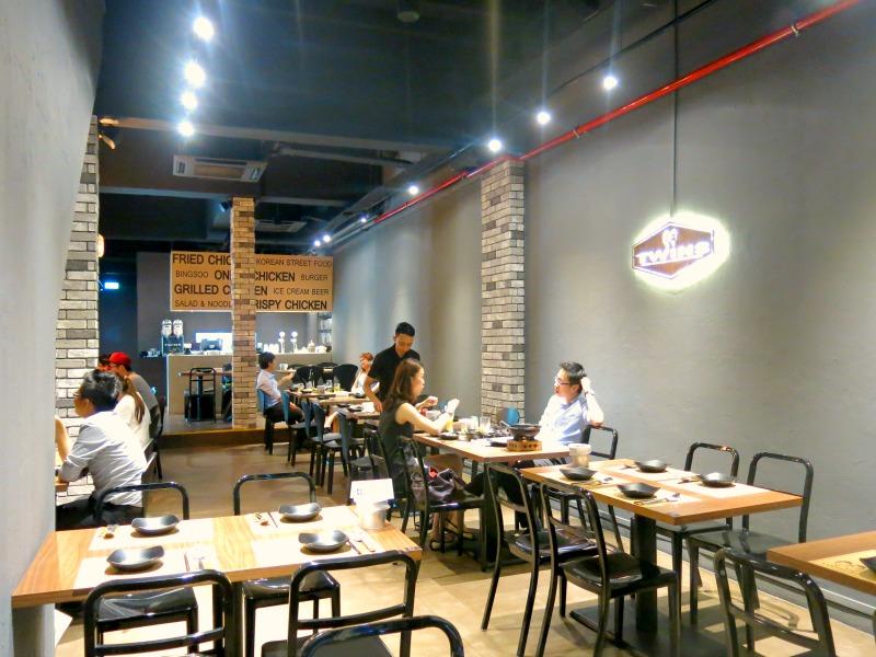 Twins Korean Restaurant Interior
