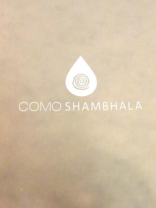 Point Yamu Phuket - COMO Shambhala Menu