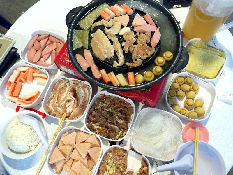 1345 Mookata Singapore - Sumptuous Spread of Food