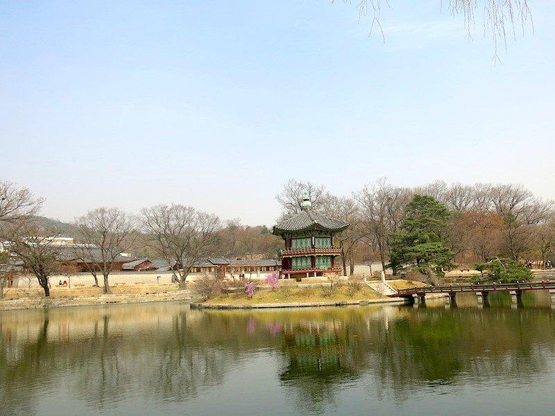 Gyeongbokgung Palace Tower