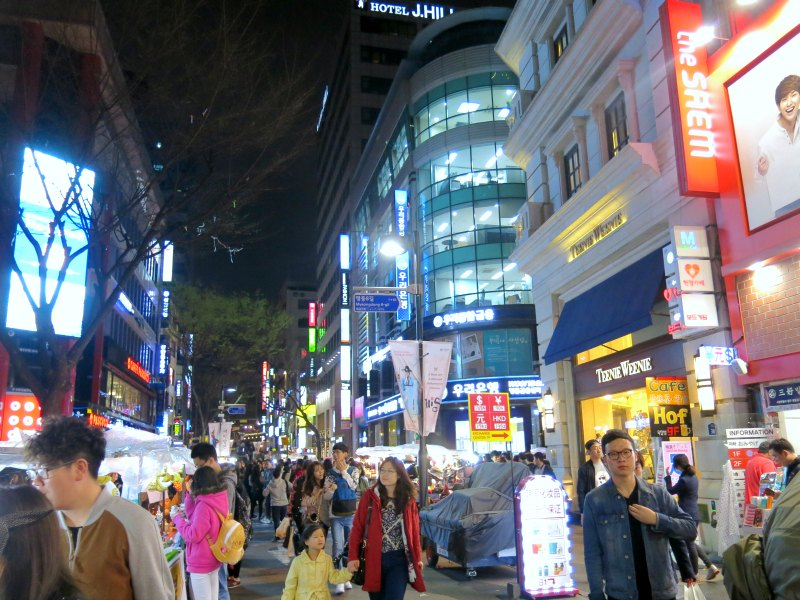 Streets of Myeongdong