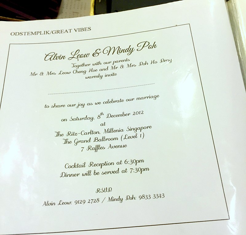 How to Design Wedding Invitation Card in Singapore ...