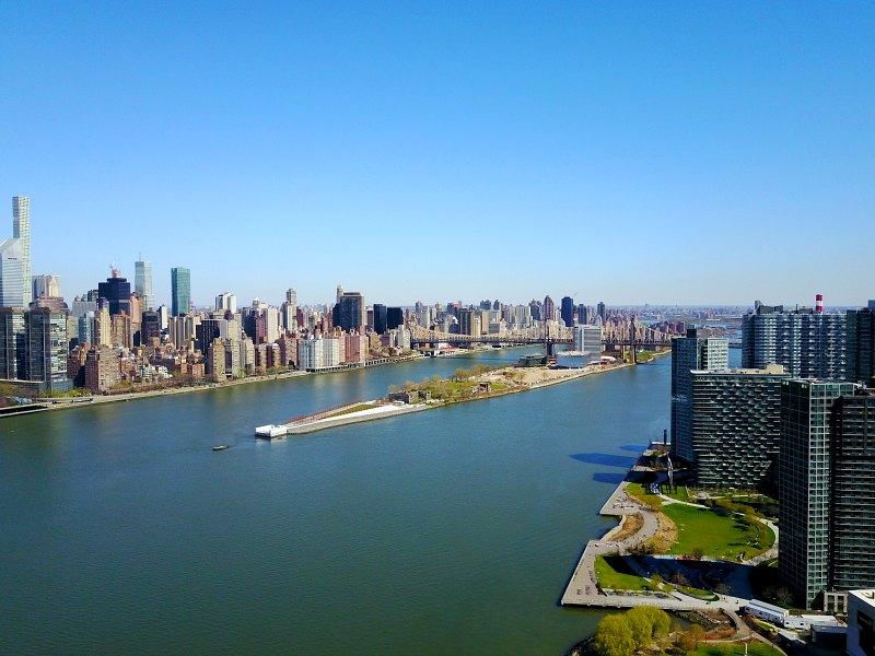 Queens and Manhattan Skyline