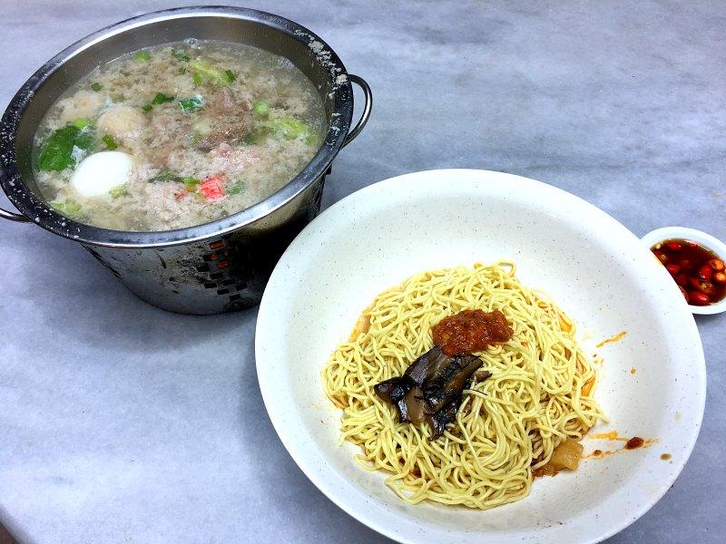 Mini Pot with Noodles