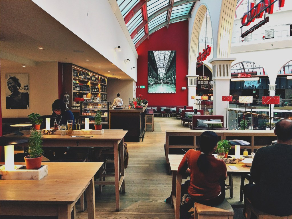 Seating Area at Vapiano