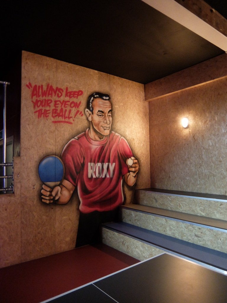 Private Ping Pong Room