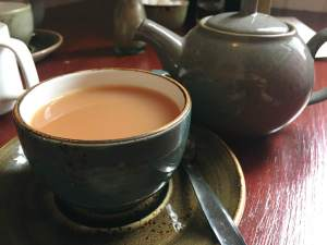 Pot of Tea at the Station House
