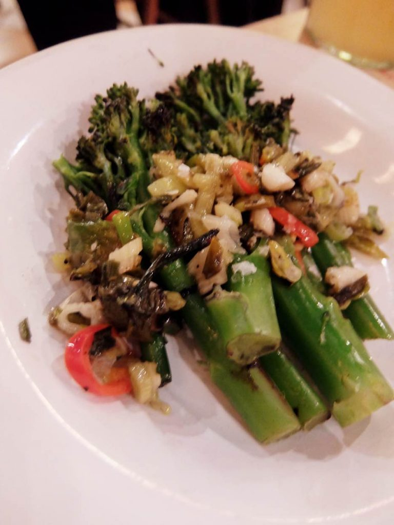 Chargrilled tenderstem broccoli