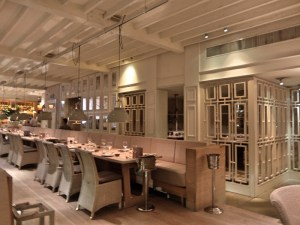 Another photo inside the restaurant area