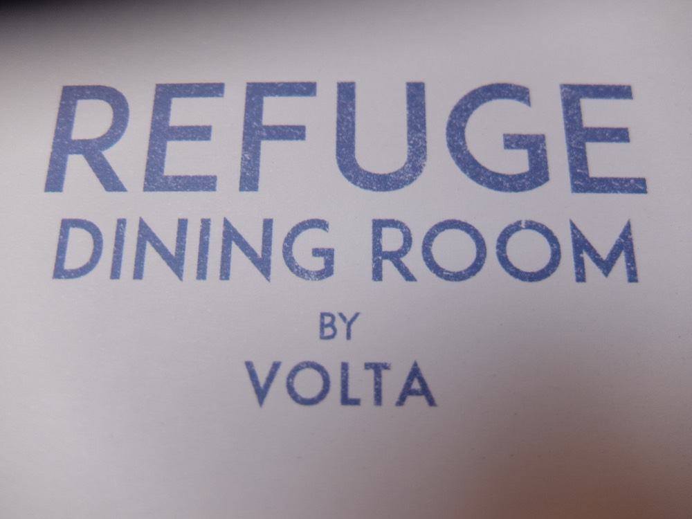 Refuge Dining Room at Volta