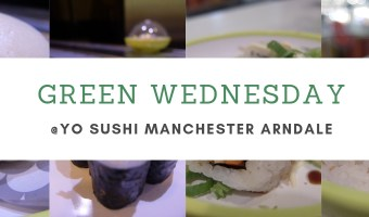 Green Wednesday @Yo! Sushi Review