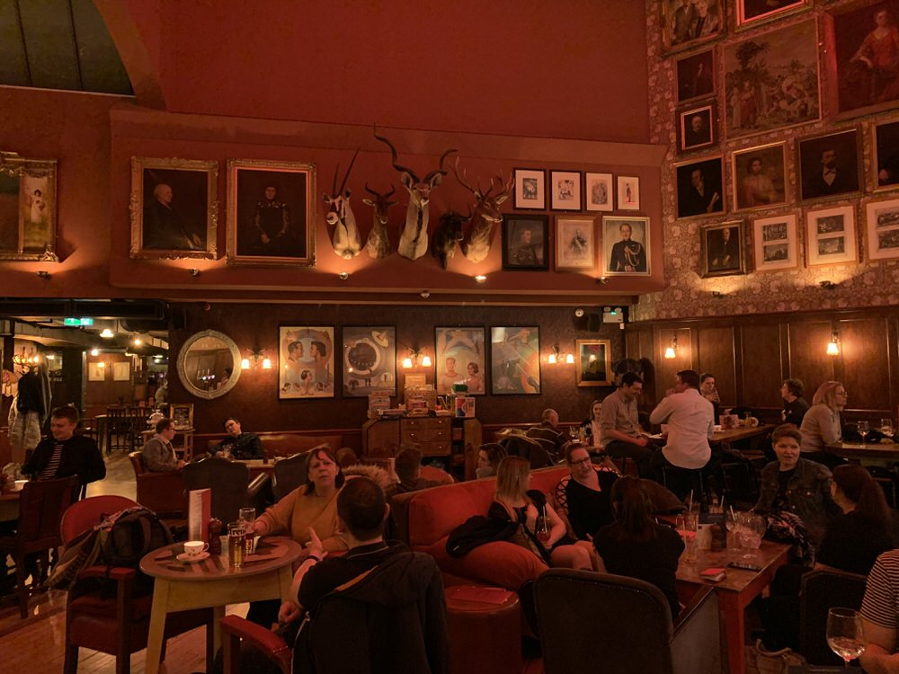 The Bar Area at Cosy Club