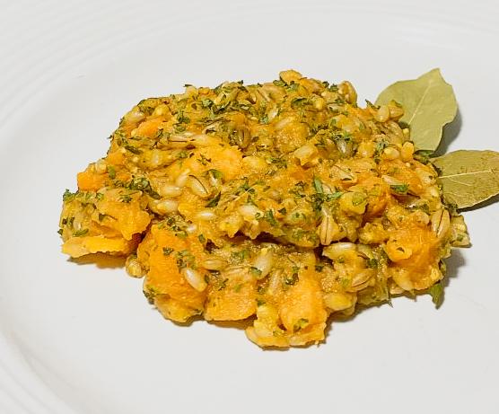 Pumpkin & Barley Risotto