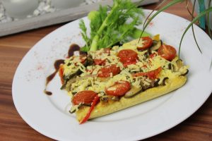 polenta pizza vegan