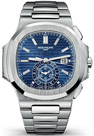 Mens Watches Patek Philippe Nautilus 40th Anniversary Limited Edition 18K White Gold Watch 5976/1G-001