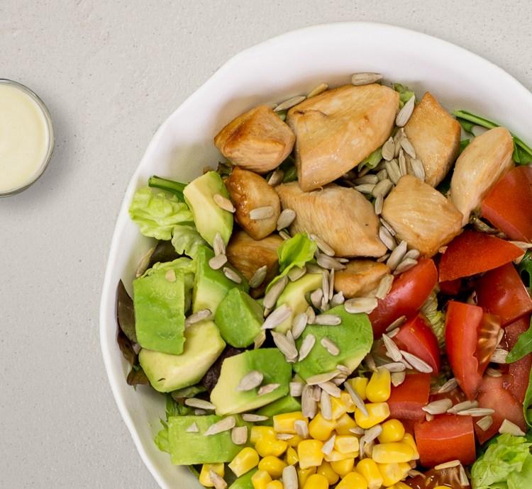Avocado Caesar Salat