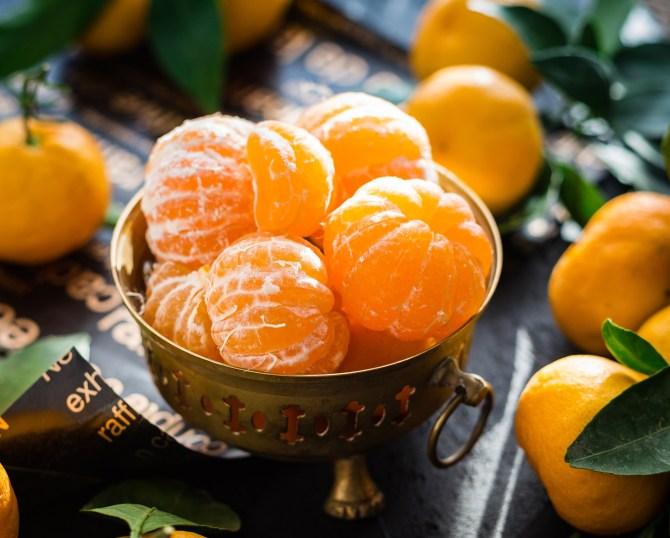 Gesund und Schlank durch die Weihnachtszeit: Mandarine