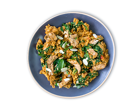 Chicken Spinach Couscous