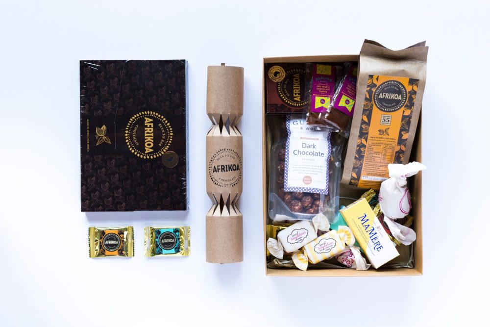 Afrikoa Chocolate Christmas Luxury gift box sonia cabano blog eatdrinkcapetown food wine travel