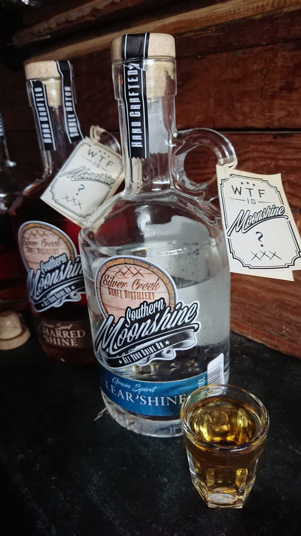Silver Creek Craft Distillery Southern Moonshine Clear Shine sonia cabano blog eatdrinkcapetown food wine