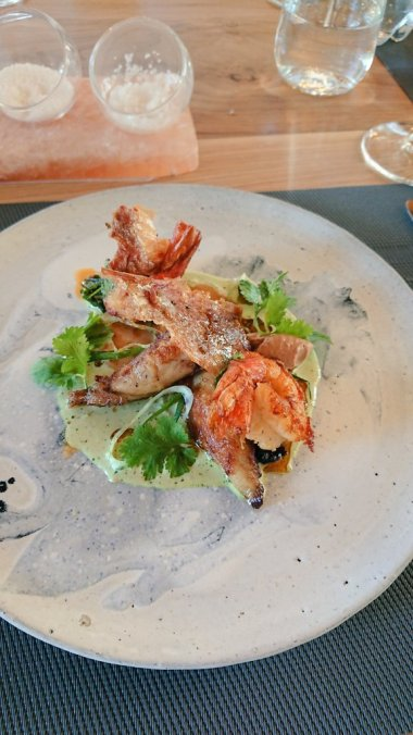 confit chicken prawn satay salt restaurant paul cluver sonia cabano blog eatdrinkcapetown
