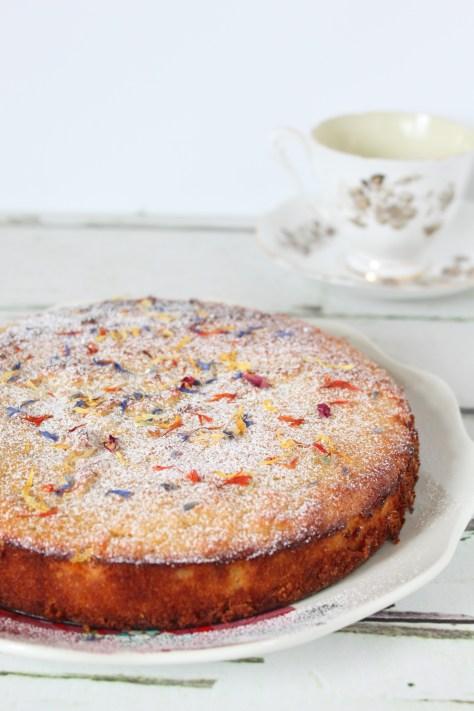 Gluten Free Pear & Almond Cake