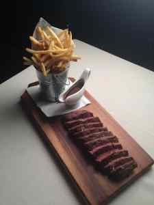 Steak Frites at Little Next Door