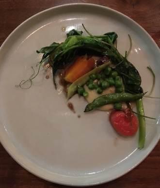 """Peas and Carrots"" Pommes Puree, Jus de Truffe - Le Comptoir"