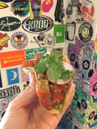 Poke Fish Taco (Salmon)