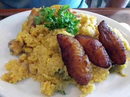 Arroz con Pollo - Baracoa Cuban Cafe