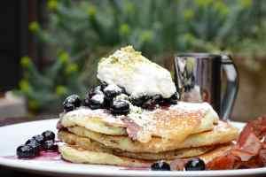 The Raymond 1886 Blueberry Pancakes